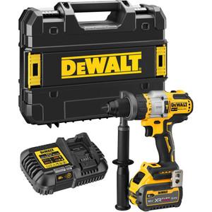 DeWalt 18V XR XRP Hammer Drill Driver Kit With FLEXVOLT Advantage - DCD999T1-XE