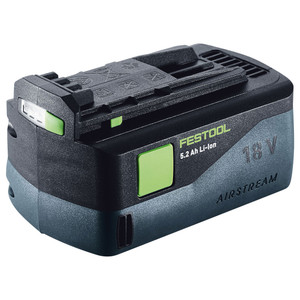 Festool 18V 5.2Ah Battery Pack with AIRSTREAM - 200181