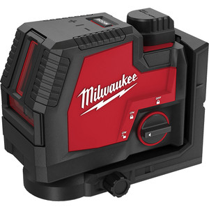 Milwaukee REDLITHIUM™ USB Rechargeable Cross Line Laser Kit - L4CLL-301C