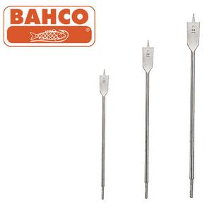 BAHCO POSITIVE CUTTING ANGLE - LONG SHANK FLAT BIT RANGE