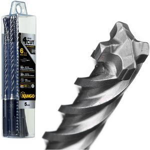 Kango 5 x 160mm K4 SDS Plus Drill Bit - 6 Piece - 6K4P5160B