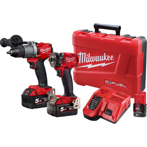 Milwaukee M18 FUEL™ 2 Piece Power Pack 2S2 - M18FPP2S2-502C