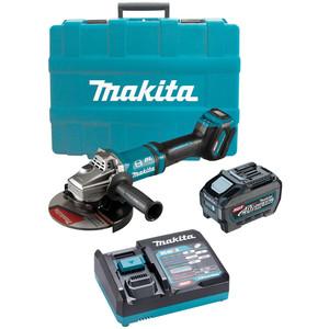"Makita 40V Max Brushless 180mm (7"") Angle Grinder Kit - GA037GT101"