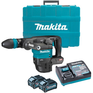 Makita 40V Max Brushless SDS Max Demolition Hammer Kit - HM001GM202