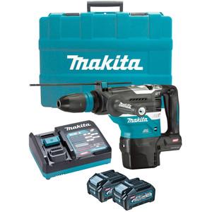 Makita 40V Max Brushless 40mm SDS Max Rotary Hammer Kit - HR005GM201