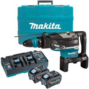 Makita 80V Max (40Vx2) Brushless 52mm SDS Max Rotary Hammer Kit - HR006GT201