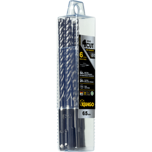 Kango 6.5 x 160mm K4 SDS Plus Drill Bit - 6 Piece - 6K4P6B160B