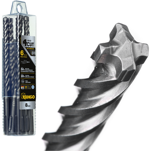 Kango 8 x 160mm K4 SDS Plus Drill Bit - 6 Piece - 6K4P8160B