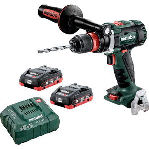 Metabo BS 18 LTX BL Q I 4.0 K - 18V Hammer Drill/Screwdriver Quick Chuck 120Nm Kit  - BS18LTXBLQI4.0K