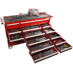 Sidchrome 393 Piece Met A/F Tool Kit Triple Bank - SCMT11105