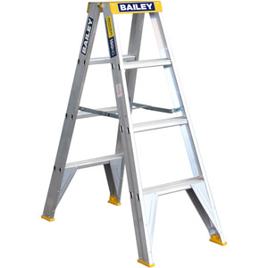 Bailey 1.2m Professional Double Sided Stepladder 150kg Rated - FS13386