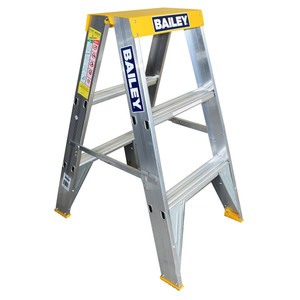 Bailey 0.9m Professional BIG TOP Double Sided Stepladder 150kg Rated - FS13393