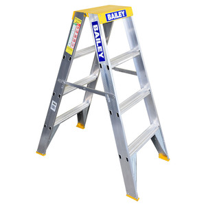 Bailey 1.2m Professional BIG TOP Double Sided Stepladder 150kg Rated - FS13394
