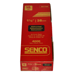 Senco 38mm Hardened DA Brads Box of 4,000 - DA17AIA