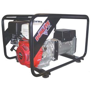 Dunlite 7.0kVA/5600 Watt Petrol Generator - Honda Powered - DGUH6S-2