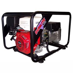 Dunlite 8.0kVA/6000 Watt Petrol Generator with Electric Start - Honda Powered - DGUH7ES-2