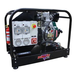 Dunlite 6.8kVA/5400 Watt MINE SPEC Diesel Generator with Electric Start - Yanmar Powered - DGULD6.8ES-MINE