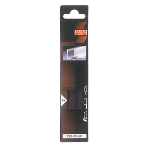 Bahco Junior Hacksaw Blades 32 TPI 5 Pack - 228-32-5P
