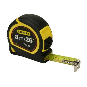 Stanley 8m/26ft Tylon Tape Measure - 30-394