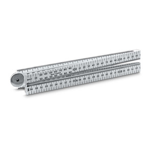Stanley 1m/3ft Folding Plastic Rule - 35-445