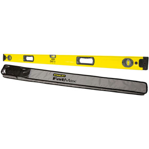 FatMax 1200mm 3 Vial Box Level with Carry Bag - 43-548B