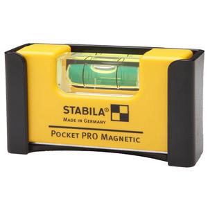 Stabila Pocket Pro Magnetic Level with Belt Clip - 17768