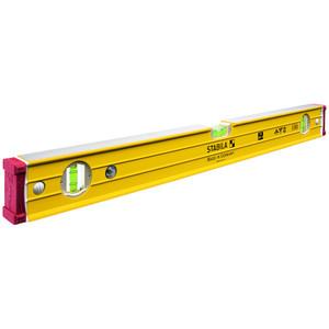 Stabila 96-2 Series 1200mm Box Frame Spirit Level - 3 Vial - 96-2/120