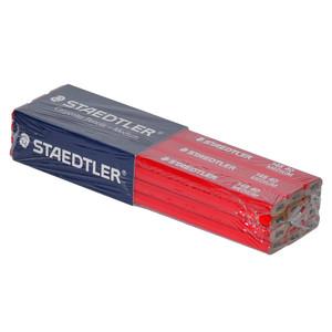 STAEDLER Red (Medium) Carpenters Pencil 12 Pack