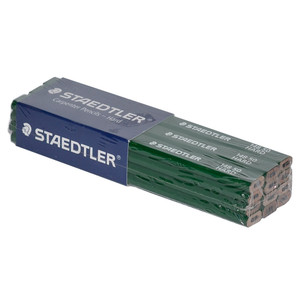 STAEDLER Green (Hard) Carpenters Pencil 12 Pack