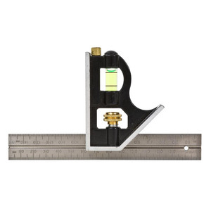 """Lufkin 150mm/6"""" Stainless Steel Combination Square"""