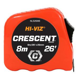 Crescent Hi-Viz 8m/26' Tape Measure - NL526ME