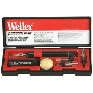 Weller Portasol Butane Powered Soldering Iron Kit - P1KC