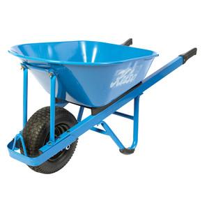 Kelso 100 Litre Master Builder's Steel Wheelbarrow with Wide Wheel - FW14001