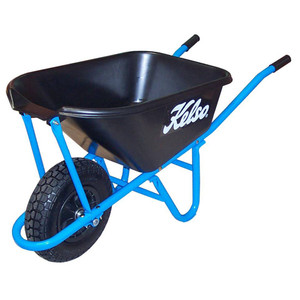 Kelso 65 Litre NarraBarra Lock-Fast Poly Tray Wheelbarrow - FW17000