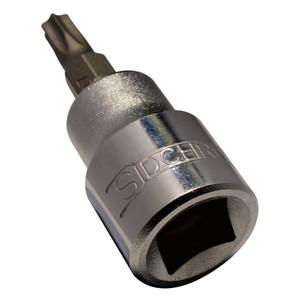 """T-10 - 1/4"""" Drive Tru-Torque (Torx) Socket"""