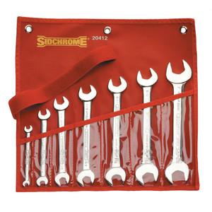 Sidchrome 7 Piece AF Open End Spanner Set - 20412