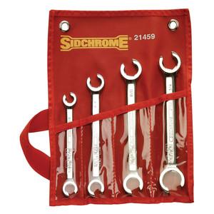 Sidchrome 4 Piece AF Flare Nut Spanner Set - 21459