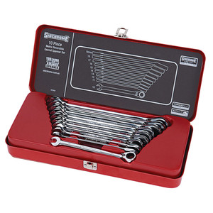 Sidchrome 10 Piece Metric Geared Wrench Set - 22202