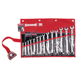Sidchrome 14 Piece Metric Ring & Open End Spanner Set - 22210