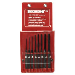 Sidchrome 8 Piece Long Pin Punch Set - 27205