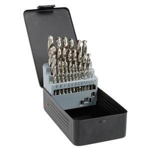 """Saber 29 Piece 1/16"""" - 1/2"""" Fractional HSS Drill Bit Set - 11-SBF3"""