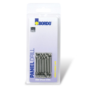 """Bordo 1/8"""" x 51mm Double Ended Panel Drill #30: 10 Pack - 2345-30T"""