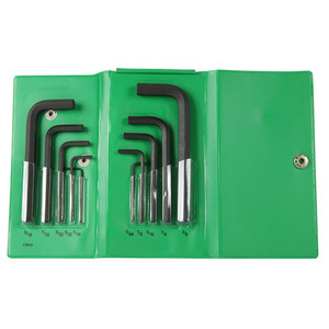 Bondhus 10 Piece Imperial Hex Key Set L-Wrench Set - 00008