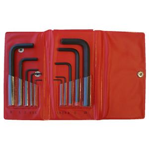 Bondhus 10 Piece Metric Hex Key Set L-Wrench Set - 00009