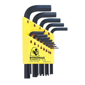 Bondhus 13 Piece Imperial Short Hex L-Wrench Set - 12237