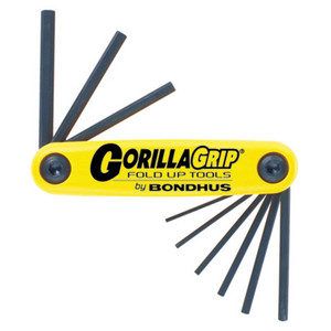 Bondhus 9 Piece Imperial Gorillagrip Hex Key Set - 12589