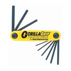 Bondhus 9 Piece Imperial Gorillagrip Hex Key Set - 12591
