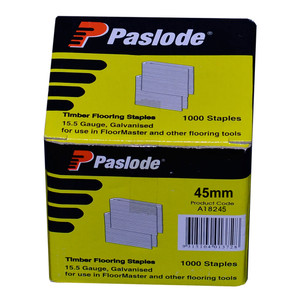 Paslode 45mm FloorMaster Staples Box of 1000- A18245