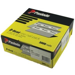 Paslode 75mm x 3.06mm Bright D Head Nails - Box of 3000 - B20467