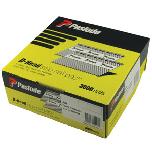 Paslode 90mm x 3.15mm Bright D Head Nails - Box of 3000 - B20469